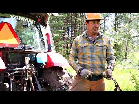 Tractor Stuck In Mud - How To Get Unstuck