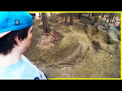 Pump Track Restoration Part 1 | WINTER DAMAGE