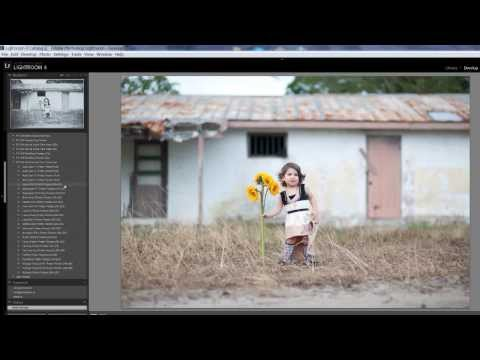 Editing with Fine Art Presets in Lightroom