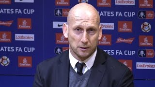 Manchester United 4-0 Reading - Jaap Stam Full Post Match Press Conference - FA Cup