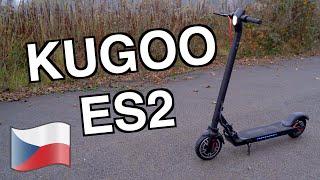 Kugoo ES2 elektrokoloběžka - ideální parťák do města // Recenze CZ