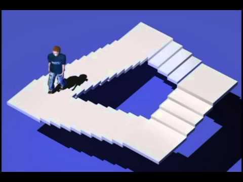 Escherian Stairwell reveal how it works!