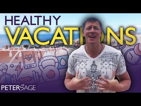 How To Stay Healthy on Holiday | Peter's Masters Circle Health & Vitality Retreat Info