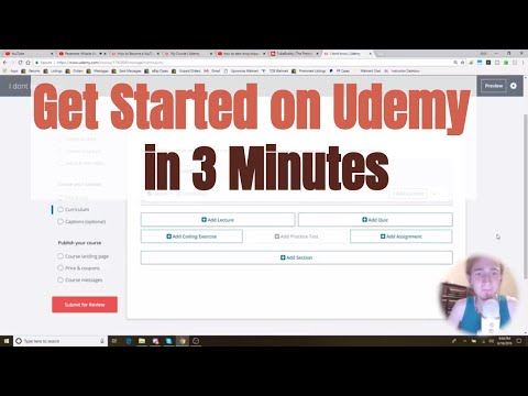 How To Get Started on a Udemy Course in 3 Minutes
