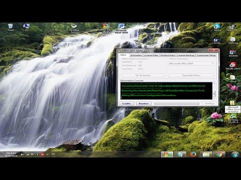 Microsoft Office 2010 Working Activator (All versions 32bit/64bit)