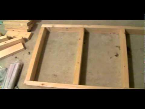 DIY WASHER & DRYER STAND pt3