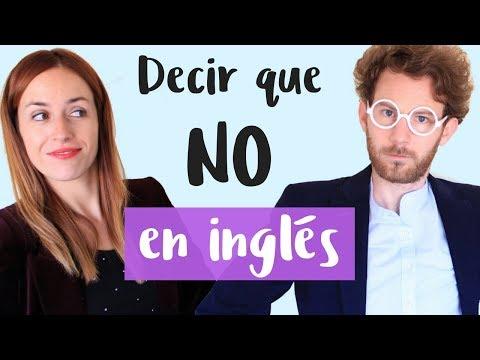 10 formas de decir que NO en inglés 🇬🇧