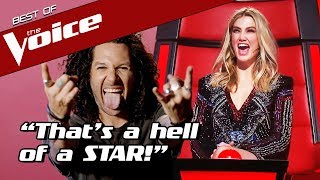 HARD ROCK LEGEND shocks The Voice Coaches with an UNEXPECTED song choice!