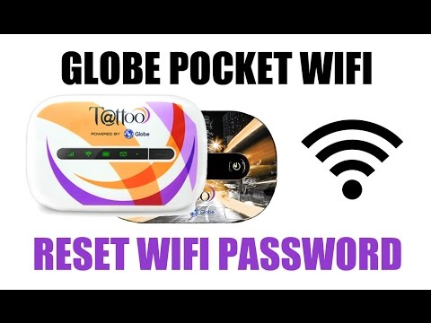 How to Reset Globe Tattoo Pocket Wifi Password