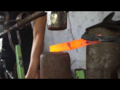 The Bicycle Power Hammer! Forging update!  Blacksmithing - Episode # 10c