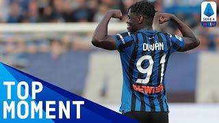 Zapata's Superb Angled Finish Puts Atalanta Ahead | Atalanta 3-1 Lecce | Serie A