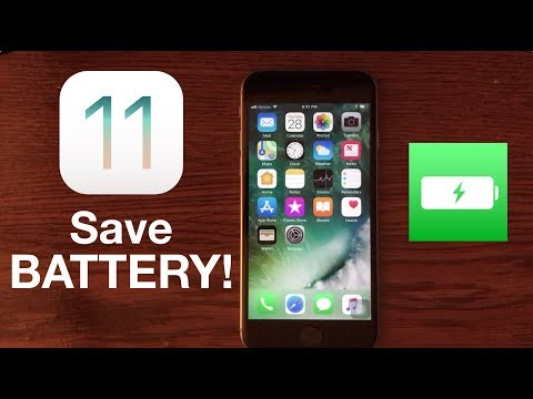 How to Improve iOS 11 Battery Life: Save Battery!