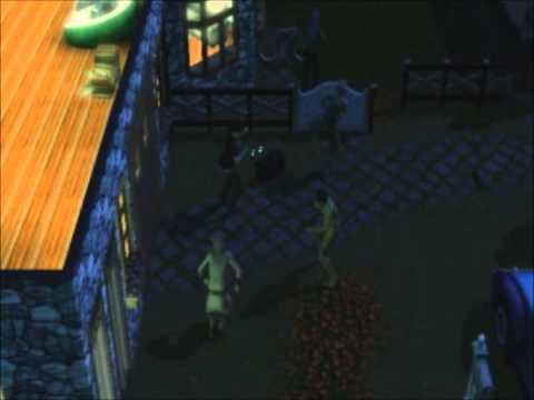 Sims 3 Supernatural Zombies Dancing Bollywood in my Garden