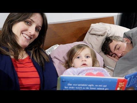 Toddler Reads to Sick Dad