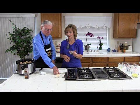 Dad's Favorite Chicken Stew: How to Make A Super-Easy, Delicious, Healthy Crockpot Chicken Stew!