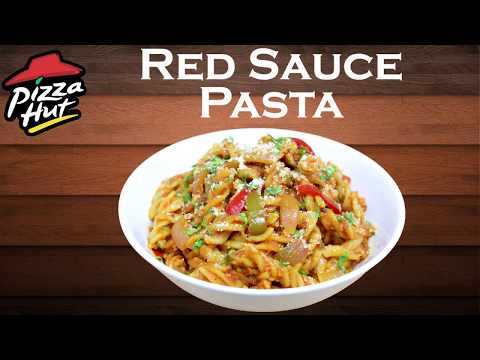 Red Sauce Pasta from scratch|Spanish Tomato Veg Pasta at home like Pizza hut||yummylicious