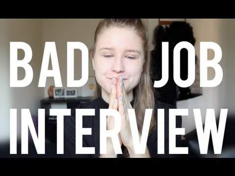 Bad Job Interview Experience + Advice
