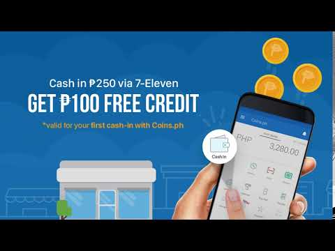 Make your first Cash In! Get P100 free credit!