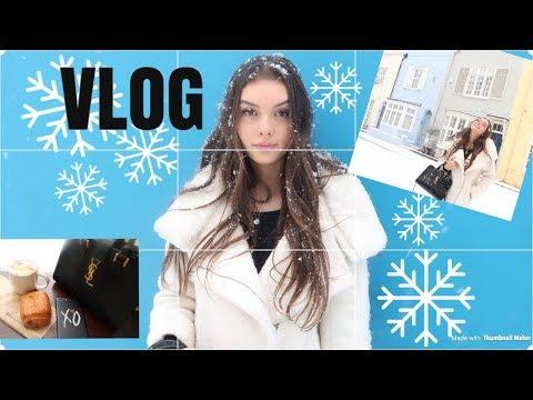 SNOWY FUN DAY IN LONDON! VLOG