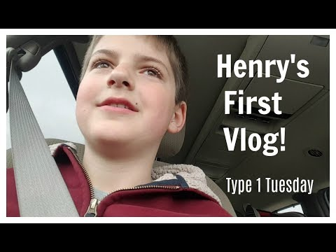 Endocrinology Appointment | Henry's First Vlog | Type 1 Diabetes