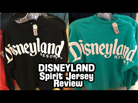 Disneyland Spirit Jersey Review