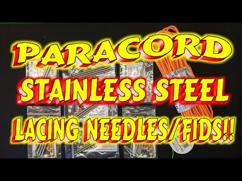 Paracord Stainless Steel Lacing Needles Fids !! [DISCONTINUED]