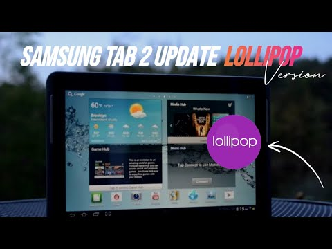 How To samsung Galaxy Tab 2 P3100/p3110 update Lollipop 5.0.2  (CM13)