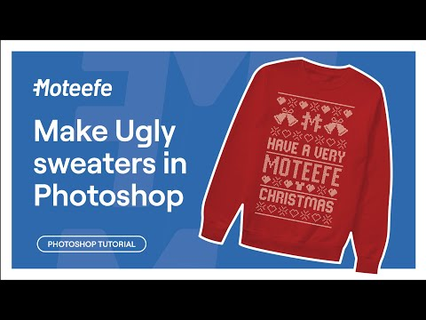 Moteefe Tutorial: How to make your own Ugly Christmas Sweater