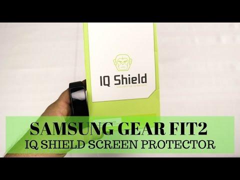 IQ Shield Samsung Gear Fit2 Screen Protector