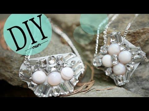 DIY Fashion: How to Make a Statement Bib Necklace {Bottega Veneta Inspired}