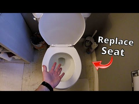 How To Easily Replace Toilet Seat -Jonny DIY