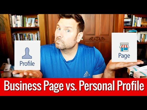 Benefits of a Facebook Business Page vs. Personal Profile