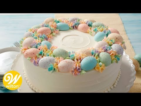 How to Make an Easter Egg Cake