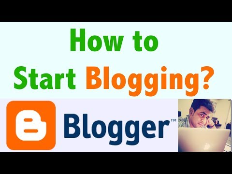 How to start blogging from starting 2018-19, Create a Blog