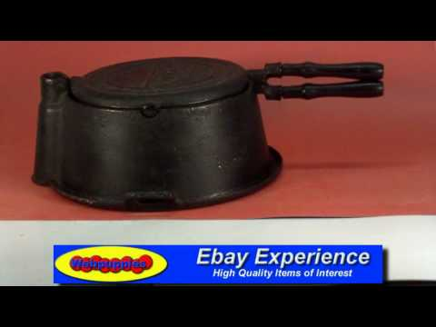 Stover High Rise Cast Iron Waffle Maker