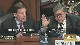 Attorney General Nominee Barr Confirmation Hearing Day.1 Part.2
