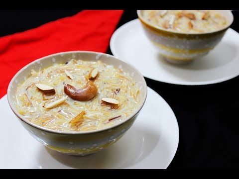 Semiya Kheer | Seviya Payasam | Vermicelli Dessert - Chef Lall's Kitchen