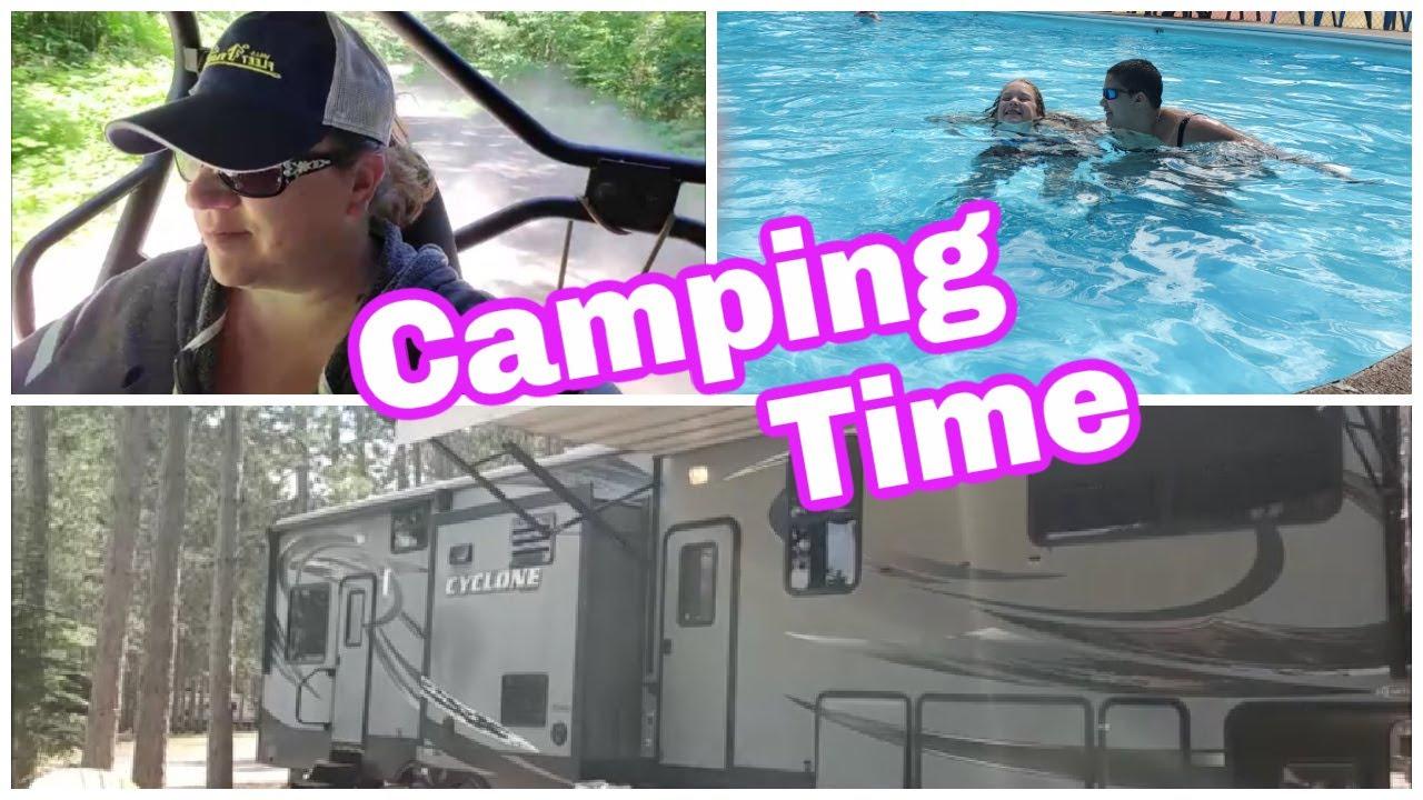 Camping Time   Hayward 2021   Family Camping Vlog