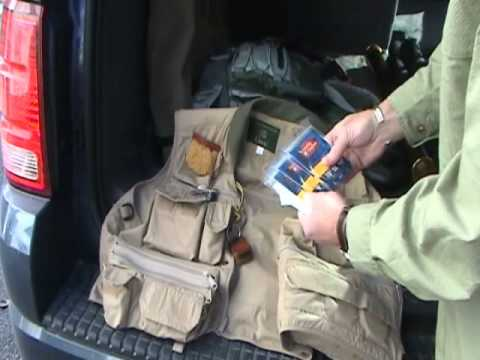 Fly Fishing Vest Check with Michael Hatfield