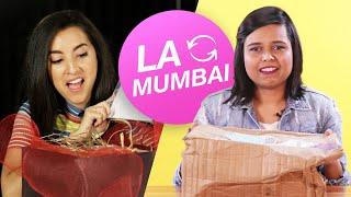 Women Swap Mystery Beauty Boxes • LA & Mumbai