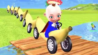 Download Learn Wild Animals On Banana Train Toys for Kids👶🎨 Video