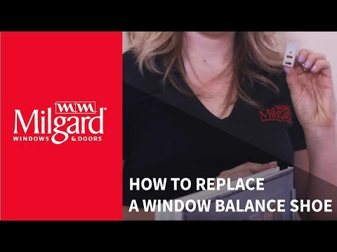 How to Replace a Window Balance Shoe