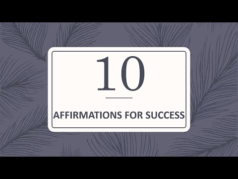 10 Affirmations for Success