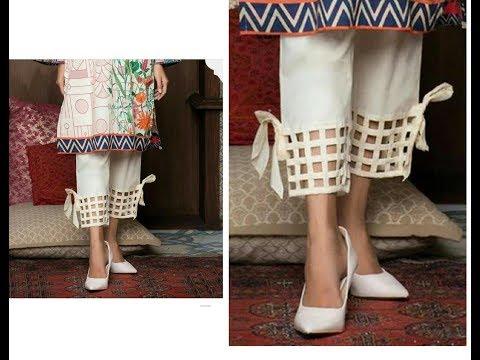Beautiful Palazzo Pant / Salwar Mohri Design - Cutting & Stitching