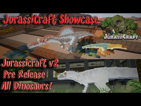 Indominus Rex JurassiCraft 2 0 Showcase Pre Rel 1 All