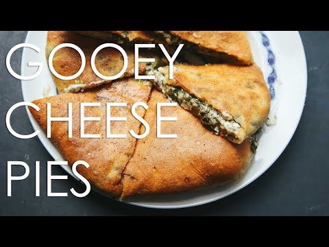 Making Ossetian Cheese Pies