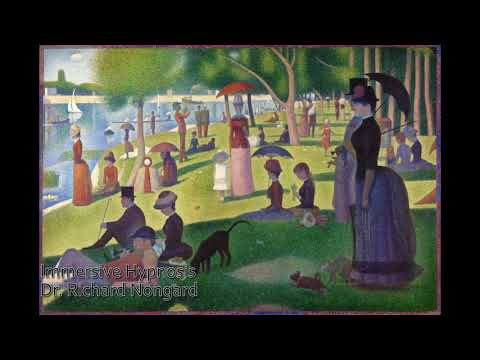 Georges Seurat Eye Fixation Hypnosis Induction Demonstration