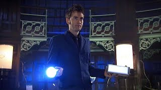 Meet the Vashta Nerada - Silence In The Library -  Doctor Who - BBC