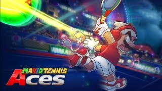 OKAY! TENNIS IS NOT SUPPOSED TO BE THIS SERIOUS!! [MARIO TENNIS ACES] [#02]