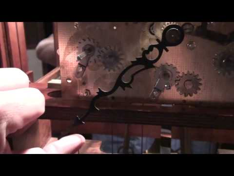 HOW A GRANDFATHER CLOCK WORKS AND REPAIR